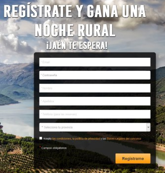 registro estancia hotel rural